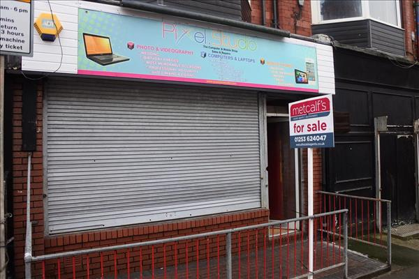 **FANTASTIC COMMERCIAL PROPERTY IN CENTRAL BLACKPOOL**Metcalf's are delighted to offer this good-sized commercial space currently known as Pixel Studio. The shop is situated in a prominent position in the busy trading location of Springfield Road. This property consists of a large shop area equipped with free standing display units, lower ground floor area comprising of W.C and a small kitchenette. The property is located in a perfect location in Central Blackpool close to the promenade, tourist attractions, the Town Centre and various transport links.THIS IS A BRILLIANT PROPERTY! YOU DON'T WANT TO MISS OUT... VIEWING IS HIGHLY RECOMMENDED TO SEE WHAT THIS PROPERTY HAS TO OFFER... 01253 624047!!